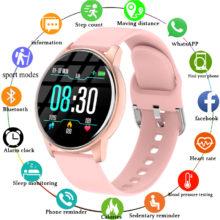 Женские Смарт-часы LIGE, фитнес-браслет с пульсометром, спортивные Смарт-часы с поддержкой приложения для Android IOS, 2020