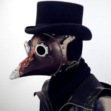 Маска для Хэллоуина, панка, доктора, Шнабеля, prop, доктор, маска для маскарада, Маскарадная маска, Кожаная шапка для доктора Шнабеля