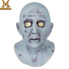 Molezu Хэллоуин ужас старый человек латексная маска Хэллоуин, латекс маскарадный наряд голова ужасные реалистичные маски карнавал