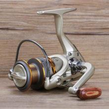 2020 новая рыболовная Катушка деревянная рукопожатие 12 + 1BB спиннинговая Рыболовная катушка Профессиональные Металлические Левые/правосторонние Рыболовные катушки колеса