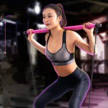 Тяговые стержни для йоги, для тела, для брюшного пресса, пулер, для дома, для йоги, для занятий фитнесом, для пилатеса, палка для упражнения, Тонизирующая планка