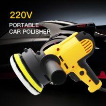 Электрическая полировальная машинка для автомобиля 220 В 500-3500 об/мин 600 Вт автоматическая полировальная машина 6 скоростей шлифовальный станок для полировки воском инструменты автомобильные аксессуары