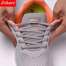Эластичные шнурки, 1 пара, тянущиеся шнурки для детей и взрослых, на туфли и кроссовки, 21 цвет