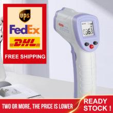 Инфракрасный термометр для лба и тела, цифровой термометр для детей и взрослых, пистолет, Бесконтактный измеритель температуры тела, WT3656