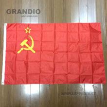 Флаги и баннеры из полиэстера с принтом молота и серпа, флаги и баннеры из Союза советских и советских социалистов, 90×150 см