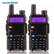 BaoFeng рация UV-5R 2 шт./лот двухстороннее радио baofeng uv5r 128CH 5 Вт VHF UHF 136-174 МГц и 400-520 МГц