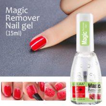 Средство для удаления гель-лака Magic Remover Nails полуперманентный УФ-лак гель Magic Remover лак для удаления гель-лака обертывания 15 мл
