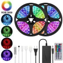 Goodland Светодиодная лента 12 В Светодиодная лента световой ленты RGB лента SMD 5050 2835 гибкая 5 м 10 м Диодная лента с удаленной подсветкой для телевизора