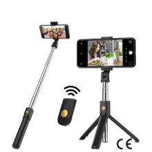CE сертификация Bluetooth селфи палка с дистанционным управлением Штатив для телефона держатель для фото штатив для камеры с автоспуском артефактный стержень