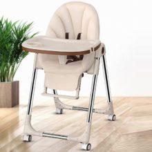 Портативное детское кресло, обеденный стол, многофункциональные регулируемые складные стулья для детей