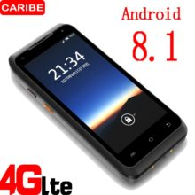 CARIBE 5,5 дюймов портативный КПК сборщик данных 1D/2D gps UHF RFID промышленный КПК Android 8,1 телефон сканер штрих-кода wifor склад