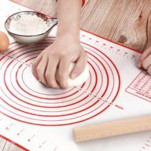 Силиконовый коврик для выпечки для пиццы, тестомеситель, кондитерские Кухонные гаджеты, инструменты для приготовления пищи, посуда для выпечки, Разминающие аксессуары, Лот