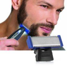 Бритвенный станок для бритья бороды электрический USB Перезаряжаемый инструмент для очистки красоты машинка для быстрого бритья сменная бритвенная головка