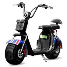 Электрический мотоцикл Citycoco электрический скутер 1500 Вт литиевая батарея 20A электрический мотоцикл электрический велосипед