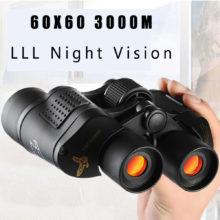 60×60 3000 м HD Профессиональный охотничий бинокль телескоп ночное видение для походов путешествия полевая работа лесное хозяйство противопожарная защита