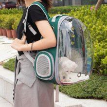 Высокое качество, космонавт, переносная дышащая космическая капсула, дорожная сумка, переносная прозрачная переноска для домашних животных, кошек, собак, рюкзак