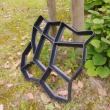 Украшение для сада, бетонные формы, пластиковые, для самостоятельного использования, многоразовая форма для бетонных кирпичей