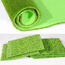 Коврик для травы, зеленый искусственный газон, газон, ковры для сада, орнамент, сделай сам, искусственный газон, трава для украшения свадебной вечеринки