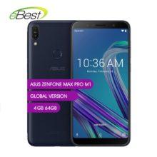 Смартфон Asus ZenFone Max Pro M1, ZB602KL, 6 дюймов, 4G LTE, 18:9, FHD, 5000 мАч, Snapdragon 636, телефон на базе Android