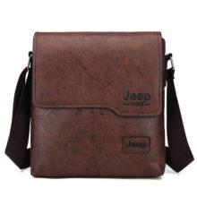 Модная мужская сумка через плечо, винтажная трендовая сумка из искусственной кожи, Ретро сумка-мессенджер, стильная повседневная мужская сумка через плечо