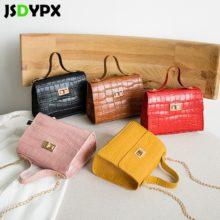 Маленькая квадратная сумка через плечо с каменным узором для женщин, маленькая сумка-тоут из искусственной кожи, сумочка, Дамская Портативная сумка через плечо, сумки-мессенджеры