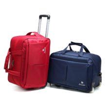 Сумка на колесиках для багажа, большая Вместительная дорожная сумка с колесами для женщин и мужчин, Дорожный чемодан, сумка для переноски багажа