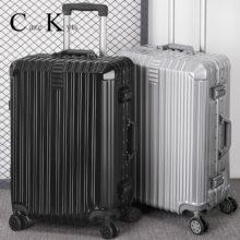 Супер модная новая сумка для багажа, дорожный чемоданчик, деловой чемоданчик на колесах, алюминиевая рама, жесткий, бесшумный чемоданчик