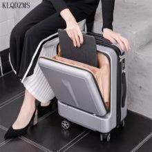 KLQDZMS новый ноутбук тележка Чемодан 20/24 дюйма, сумка на колесиках чемодан пароль для мужчин и женщин, масштабных дорожных чемоданов на колесе