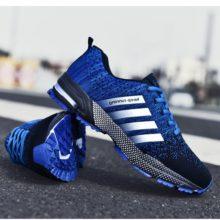 Модная мужская обувь, портативная дышащая обувь для бега 46, кроссовки большого размера, удобная прогулочная повседневная обувь для бега 48