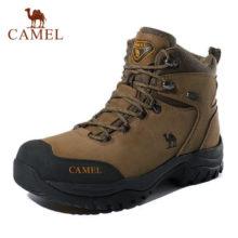 CAMEL/Мужская и женская обувь для пешего туризма с высоким берцем, 2019, прочная водонепроницаемая противоскользящая обувь для альпинизма, походная обувь, военные тактические ботинки