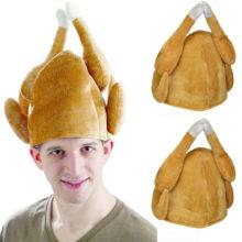 Индейка шляпа на День Благодарения Новинка приготовленная курица птица секретный санта маскарадное платье
