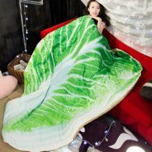 Пледы Одеяло Супер Мягкое хлопковое постельное одеяло капуста мультфильм животных летом Прохладный плед диван одеяло для детей взрослых кровать пледы одеяло