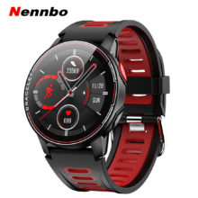 Смарт-часы L6, IP68 Водонепроницаемые спортивные мужские и женские Bluetooth Смарт-часы, фитнес-трекер, пульсометр для Android и IOS, 2020