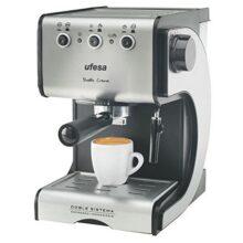 Экспресс Ручная кофемашина UFESA CE7141 1,5 л 15 бар 1050 Вт черный серебристый Inox
