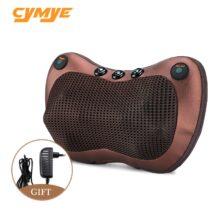 Cymye массажер для шеи, плеч, спины, тела, электрическая Массажная подушка