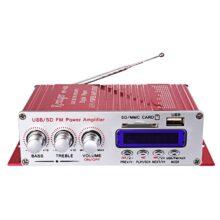 Автомобильный стереоусилитель Kentiger, Hi-Fi, радио, mp3-колонка с Fm-дисплеем, ЖК-дисплей, усилитель мощности для авто, мотоцикла, пульт дистанционного управления