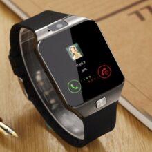 Умные часы с сенсорным экраном dz09, наручные часы с камерой, Bluetooth, SIM-карта, умные часы для телефонов Ios, Android
