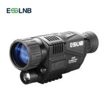 Цифровой инфракрасный Монокуляр 5X40 с ночным видением для охоты, военных, с аккумулятором 200 м