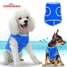 Охлаждающий Жилет для собак, пальто для кошек, Испарительный болотный кулер, куртка, безопасный светоотражающий жилет для щенков, собак, прогулок, охоты на открытом воздухе
