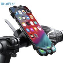 Велосипедный держатель для телефона RAXFLY, велосипедный держатель для мобильного телефона, мотоциклетный держатель для iPhone Samsung Xiaomi Gsm Houder Fiets