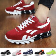 Женские и мужские кроссовки; Дышащая обувь для бега; Уличная спортивная модная удобная повседневная обувь для пар; Спортивная обувь