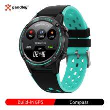M6C GPS умные часы для женщин и мужчин 2020 с компасом Барометр для спорта на открытом воздухе фитнес-трекер пульсометр Смарт-часы GPS