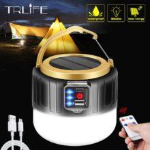 Портативный фонарь 280 Вт с USB/солнечной зарядкой, светильник 190 Вт, ночная рыночной лампа, мобильная наружная кемпинговая мощная аварийная лампа для барбекю