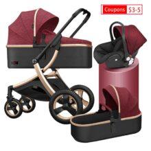 2020 новая коляска Быстрая доставка Бесплатная доставка Портативная 3в1 детская коляска 2в1 коляска