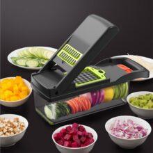 Многофункциональная овощерезка, для фруктов, терка, слайсер, для картофеля, для морковки, сливная корзина, кухонный инструмент