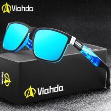 Viahda 2020 Популярные брендовые поляризованные солнцезащитные очки для мужчин спортивные солнцезащитные очки для женщин мужчин Путешествия Gafas De Sol