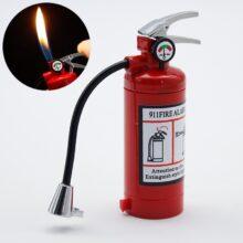 Необычная Огнетушитель сигарета газовая зажигалка аксессуары для курения гаджеты для мужчин Уличная Водонепроницаемая зажигалка для кемпинга