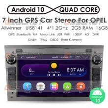 2G 64G Android 10 2 DIN Автомобильный GPS для opel Vauxhall Astra H G J Vectra Antara Zafira Corsa Vivaro Meriva Veda без DVD-плеера